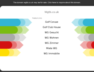 wgtls.co.uk screenshot