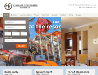 wgtowncenter.com screenshot