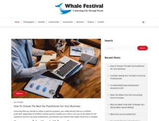 whalefestival.co.za screenshot