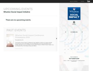 whartonsocialimpact.ticketleap.com screenshot