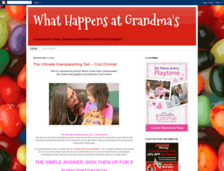 whathappensatgrandmas.com screenshot