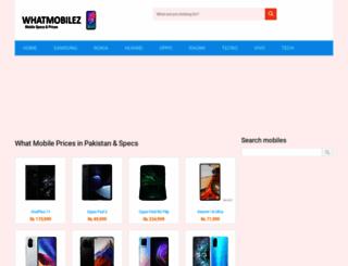 whatmobilez.com screenshot