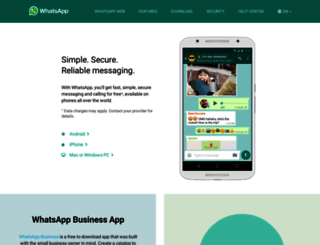 whatsapp.com screenshot