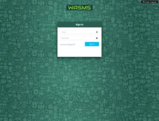 whatsappsms.us screenshot