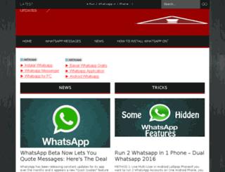 whatsapptricks.com screenshot