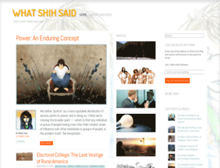 whatshihsaid.com screenshot