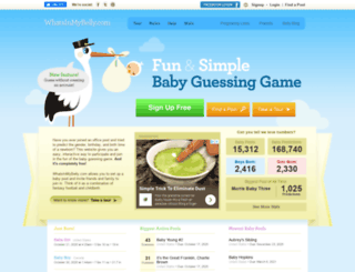 whatsinmybelly.com screenshot