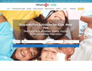 whatson4littleones.com.au screenshot