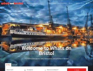 whatsonbristol.co.uk screenshot