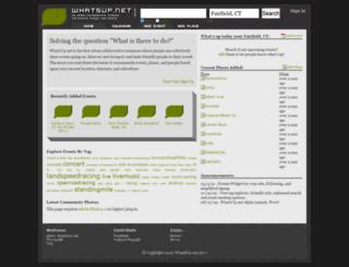 whatsup.net screenshot