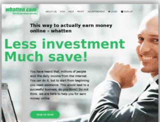 whatten.com screenshot