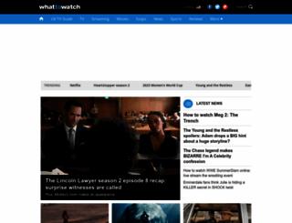 whattowatch.com screenshot