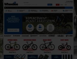 wheelies.co.uk screenshot