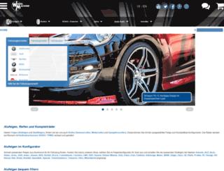wheelmachine.de screenshot