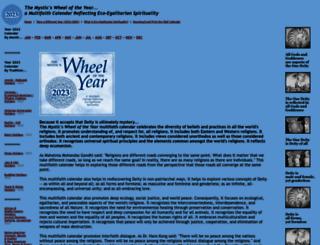 wheeloftheyear.com screenshot