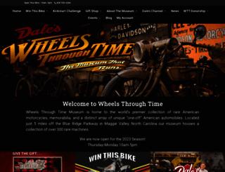wheelsthroughtime.com screenshot
