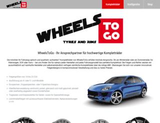 wheelstogo.de screenshot