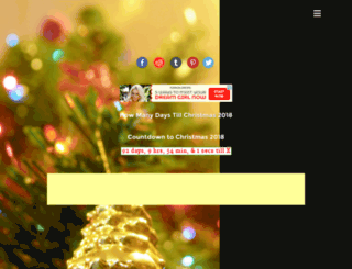 whenischristmas.com screenshot