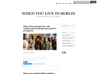 whenyouliveinberlin.tumblr.com screenshot