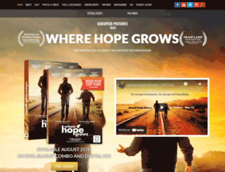 wherehopegrowsmovie.com screenshot