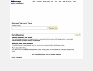 wheremy.com screenshot