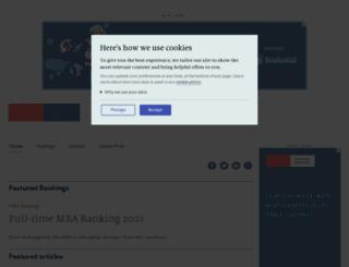 whichmba.com screenshot