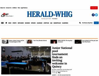whig.com screenshot