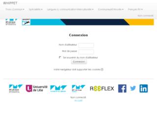 whippet.telecom-lille.fr screenshot