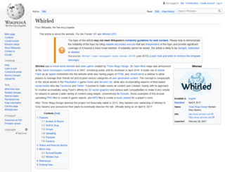 whirled.com screenshot