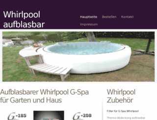 whirlpool-aufblasbar.eu screenshot
