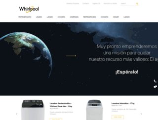 whirlpool-ca.com screenshot