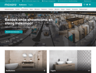 Access whirlpool-outlet.nl. Badkamer en tegels kopen | Maxaro