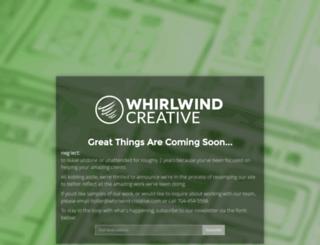 whirlwind-creative.com screenshot