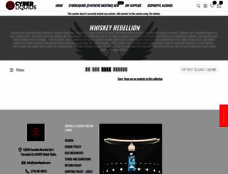 whiskeyrebellionusa.com screenshot