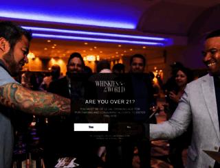 whiskiesoftheworld.com screenshot
