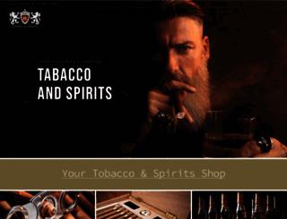 whisky-and-spirits.com screenshot