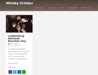 whisky-drinker.com screenshot