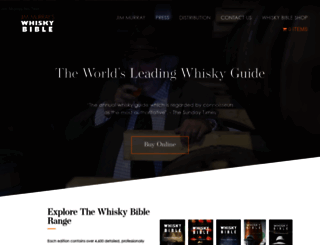 whiskybible.com screenshot