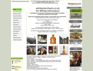 whiskymerchants.co.uk screenshot