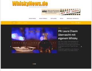 whiskynews.de screenshot