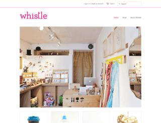 whistlesf.com screenshot