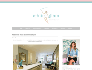 white-glam.blogspot.pt screenshot