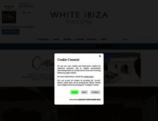 white-ibiza.com screenshot