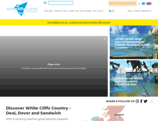 whitecliffscountry.org.uk screenshot