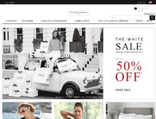whitecompany.co.uk screenshot