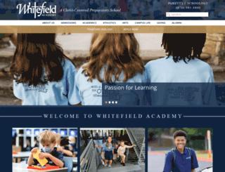whitefieldacademy.com screenshot