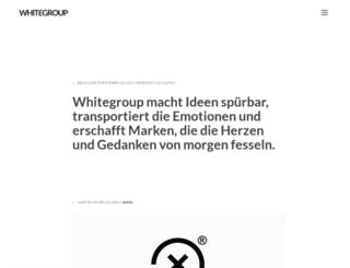 whitegroup.de screenshot