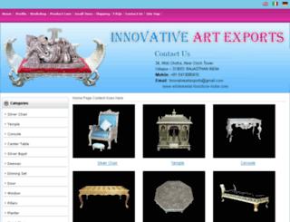 whitemetal-furniture-india.com screenshot