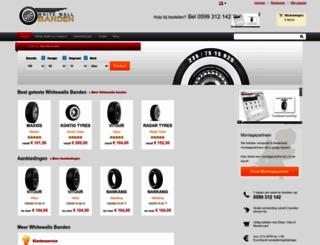 whitewalls.nl screenshot