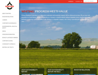 whiting.com screenshot